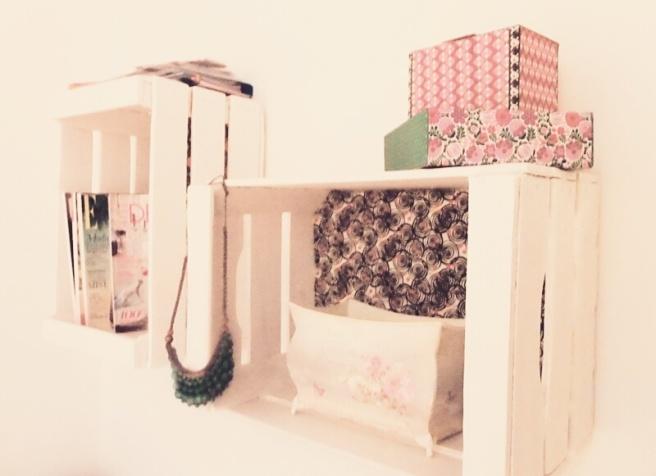 cajas madera recicladas
