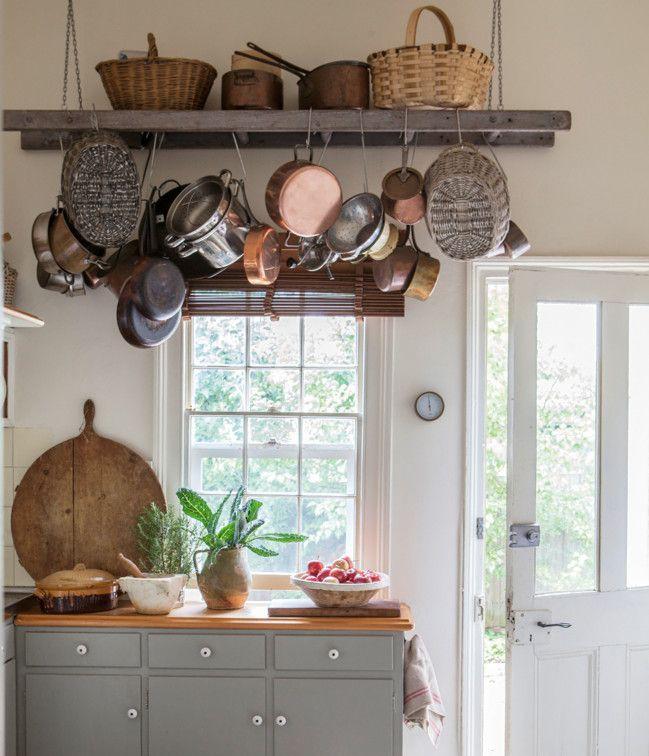 decorar escalera cocina