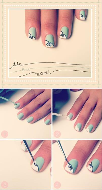 diy uñas pintadas