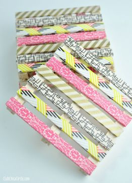 posavasos washi tapes