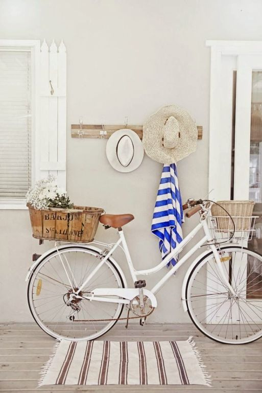 decorar bici vintage