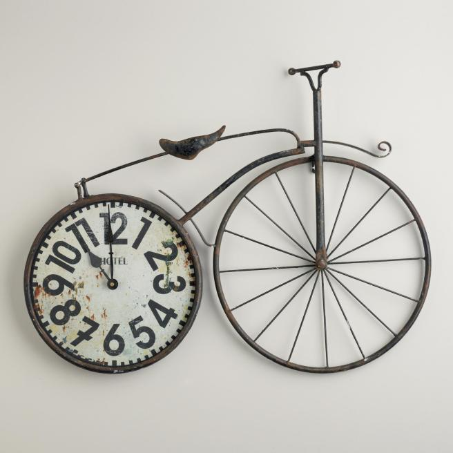 bicicleta reloj