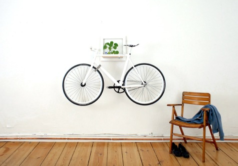 decorar con bicicleta