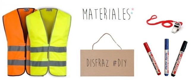 disfraz diy _ manifestacion_materiales