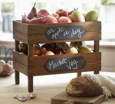 idea pintura pizarra _ caja fruta