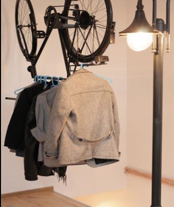 bicicleta para-colgar-la-ropa