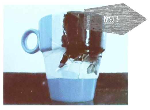 taza diy pintura pizarra