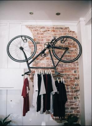 bicicleta vestidor entrada