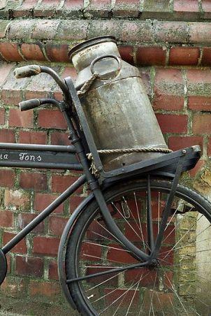 bicicleta lechera