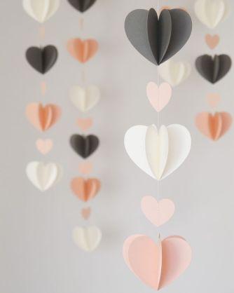 guirnaldas corazones