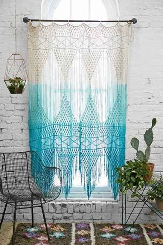 macrame decorar pared
