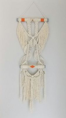 macrame pared