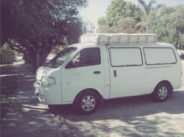 my van recien comprada