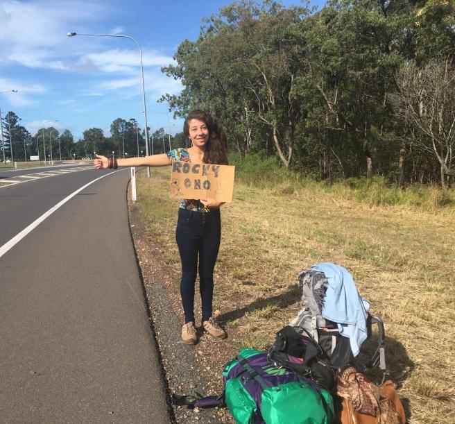 autostop en australia